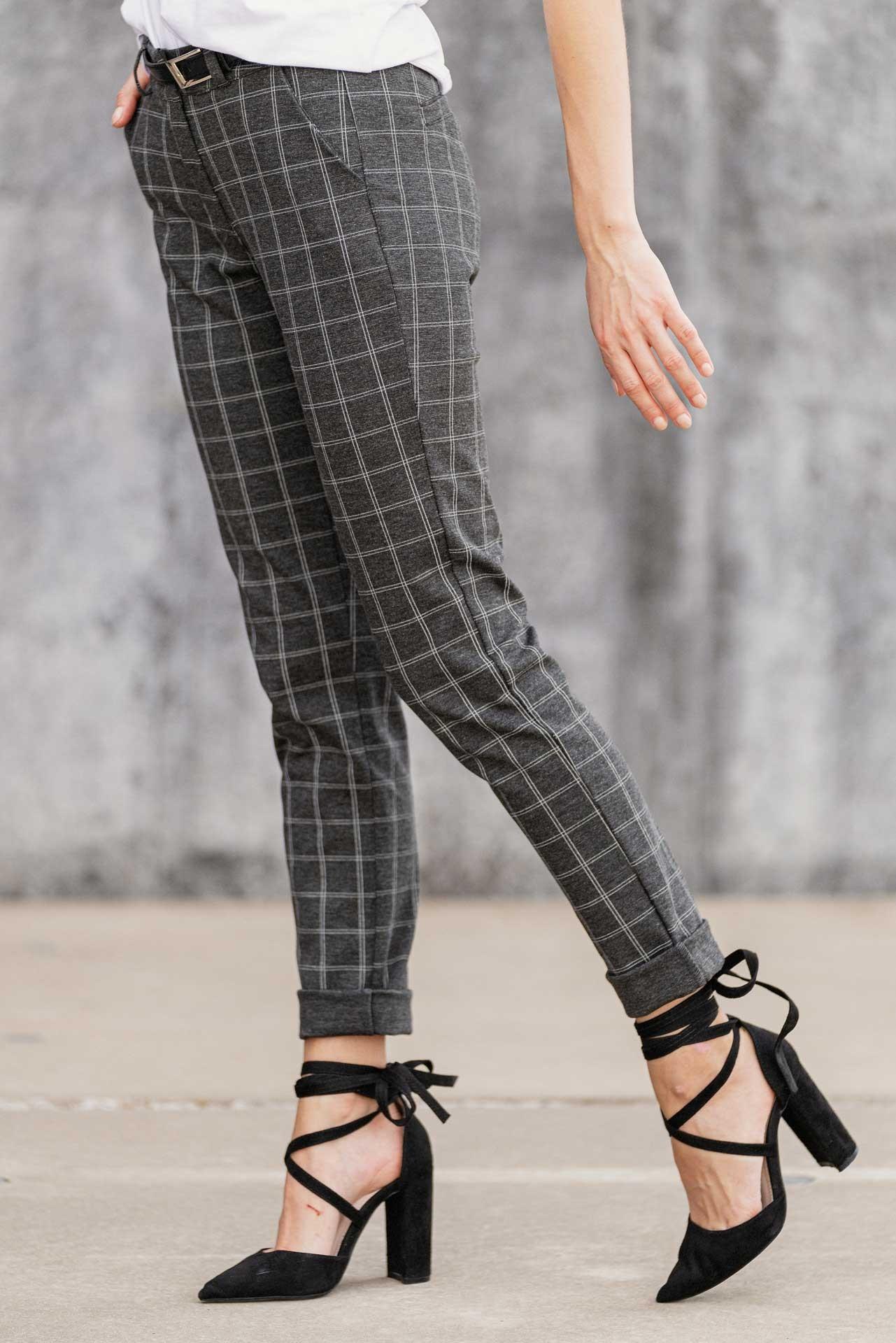 Dámské kalhoty CHECK