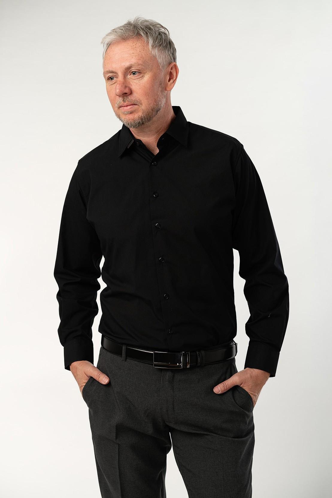 Košile - CLASSICO černá